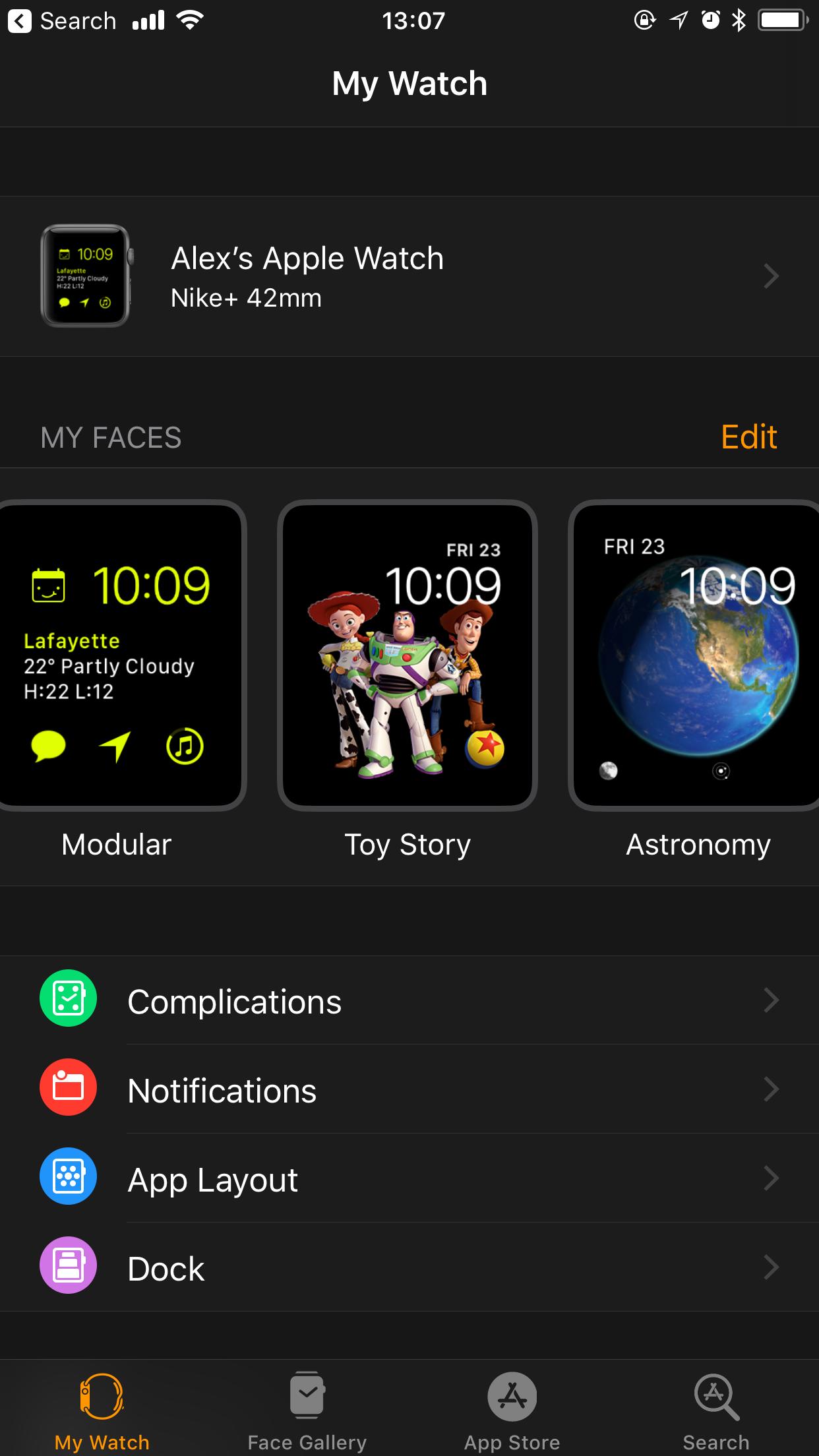 Apple Watch Setup App