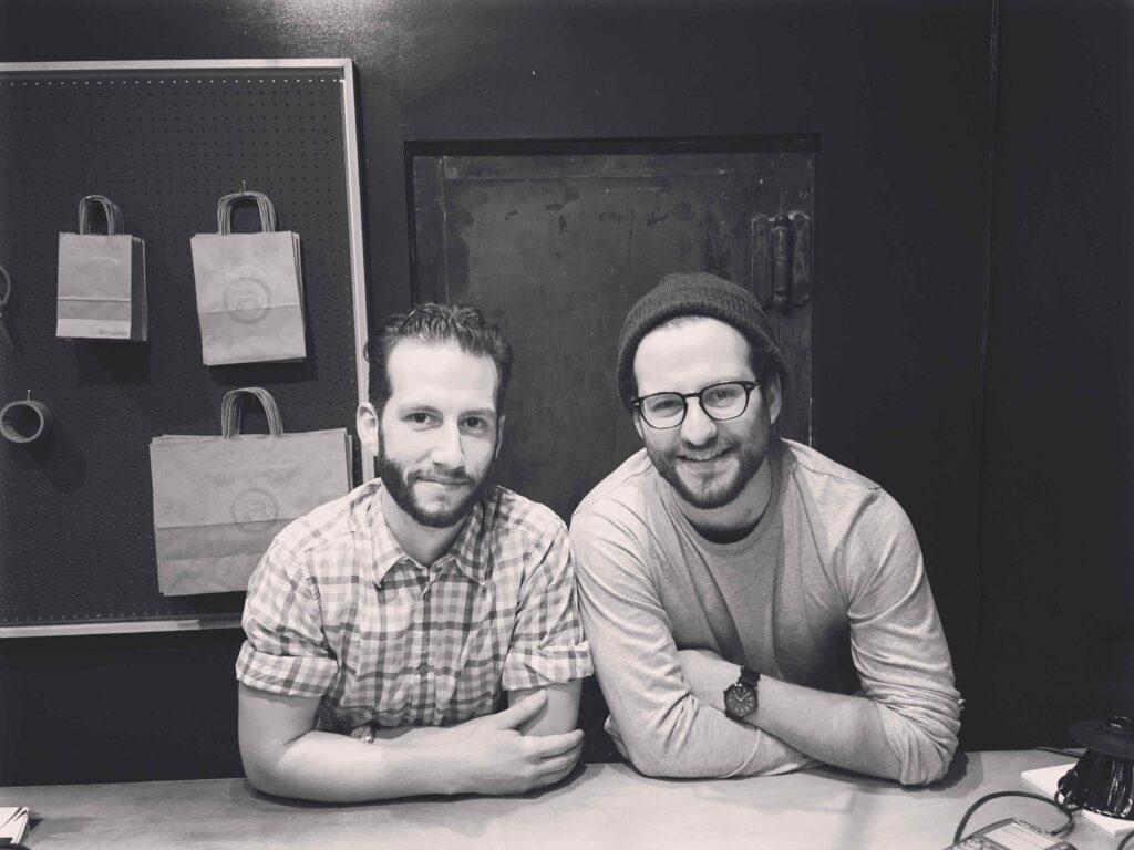George and Chris Giannakos