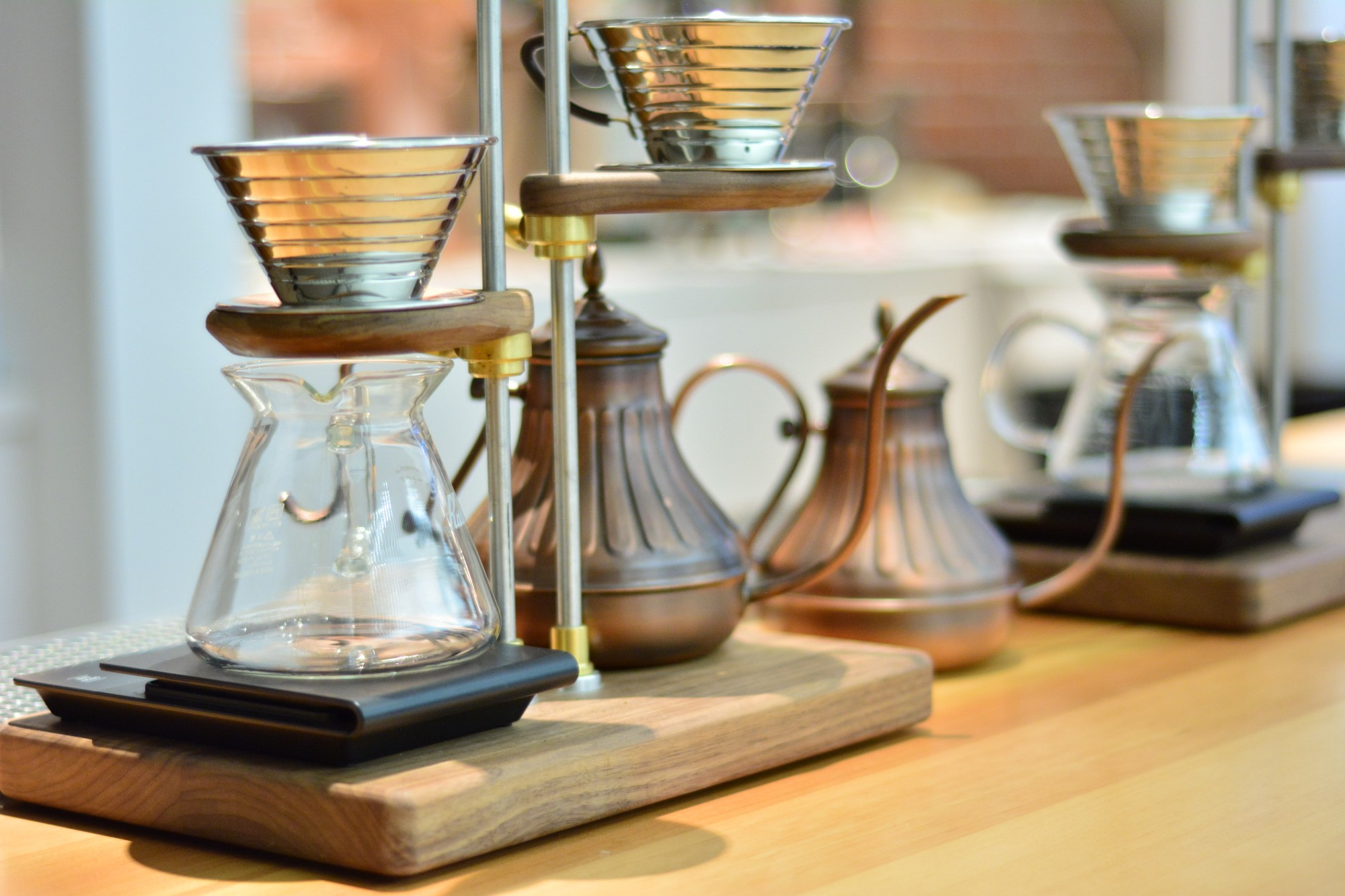 Slow brew bar